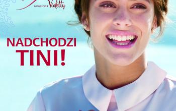 """Książka """"Tini. Moje nowe życie"""" od Egmont Polska"""