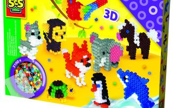 Zwierzęta 3D – koralikowe prasowanki