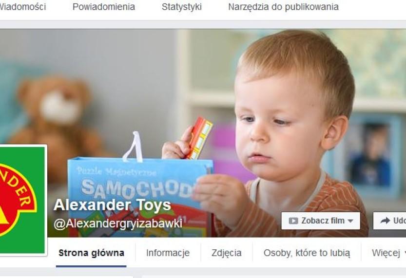 Alexander w social mediach