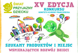 XV konkurs Świat przyjazny dziecku