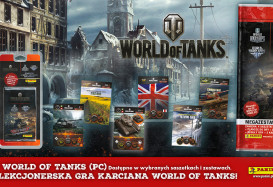 Panini z kolekcją kart World of Tanks Earth Rumble