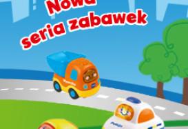 TREFL wprowadza nową serię zabawek Tut Tut Autka!