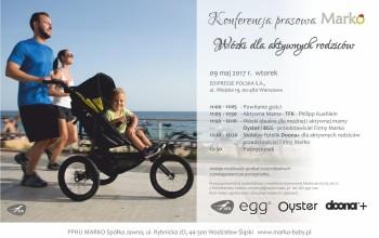 Marko zaprasza na konferencję – Wózki dla aktywnych rodziców