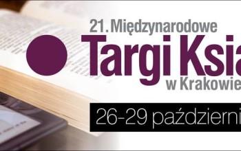 21. Targi Książki w Krakowie już niebawem!