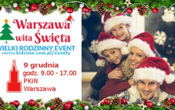 RYNEK ZABAWEK patronem medialnym targów – Warszawa wita Święta – 9 grudnia 2017 r.