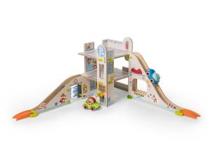 Kullerbue – Spielbahn Parkhaus / Habermaass GmbH, Gewinner der Kategorie Baby & Infant (0-3)