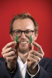 Tim  Ansvarlig for udvikling af nye materialer fro produktion af lego klodser. LEGO Billund Copyright Niels Åge Skovbo/Fokus Foto 2018,02,014