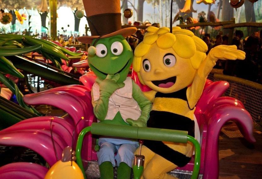 Zwycięzcy konkursu TM Toys w parku rozrywki Majaland w Belgii