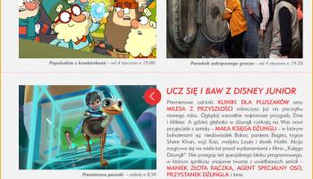 Propozycje programowe Disneya w styczniu 2016