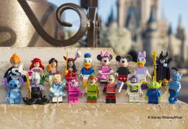 Kultowe postacie z filmów Disneya w nowej serii minifigurek Lego®