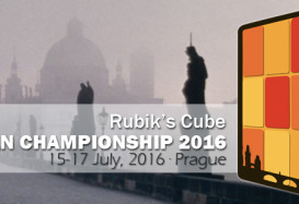 15-17 lipca 2016 – Mistrzostwa Europy w Układaniu Kostki Rubika