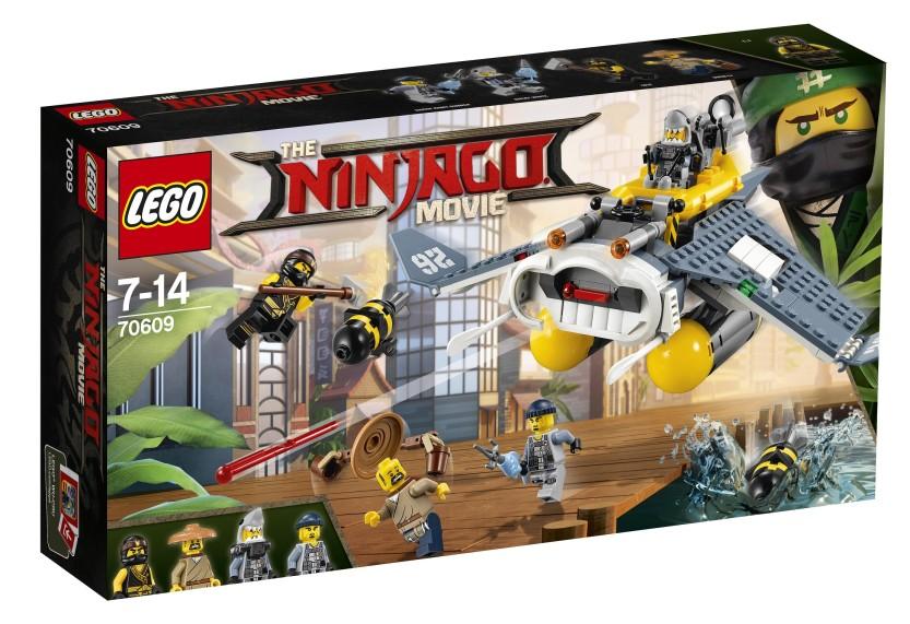THE LEGO® NINJAGO® MOVIE™ dla wszystkich odważnych ninja!
