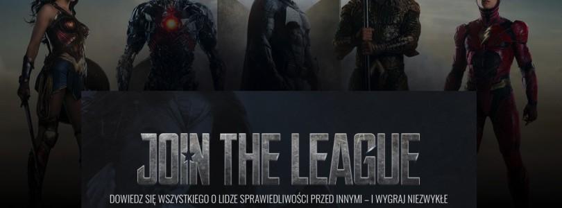 Odwiedź stronę Join League i wejdź do świata Superbohaterów DC Comics