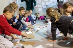 Warsztaty dla dzieci na taragach fotAndrzej Solnica