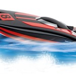 9. Lodz Carrera RC Race Catamaran woda