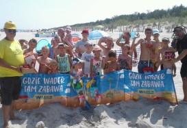 WADER-WOŹNIAK: Plażowe Mistrzostwa Budowniczych zakończone