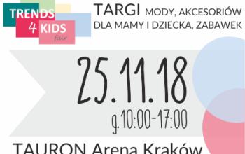TRENDS 4 KIDS już w ten weekend w Krakowie