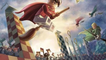 AMEET:  LEGO® Harry Potter™: naklejkowe scenki, kolekcja plakatów