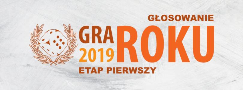 Konkurs Planszowa Gra Roku 2019 oficjalnie rozpoczęty!