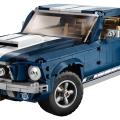 Kultowy amerykański Ford Mustang  wjeżdża do sklepów w zestawie LEGO® Creator Expert!