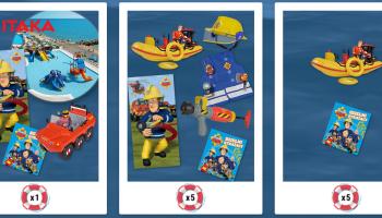 Wygraj rodzinne wakacje oraz zestawy zabawek od Strażaka Sama!