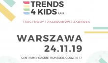 Targi Trends 4 Kids po raz drugi w Warszawie!