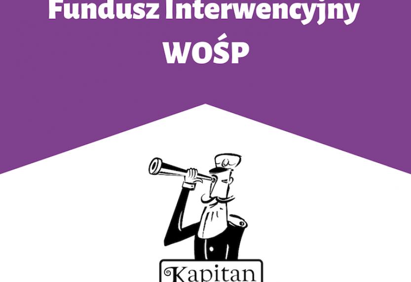 Kapitan Nauka wspiera Fundusz Interwencyjny WOŚP