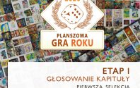 Planszowa Gra Roku – I etap konkursu!
