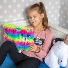 """Pamiętnik z kłódką 3D """"włochacz""""Rainbow CatMy Little Friend"""