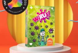 """""""Wirus!"""" – najbardziej zaraźliwą grą karcianą na świecie z tytułem Influencer's Top!"""