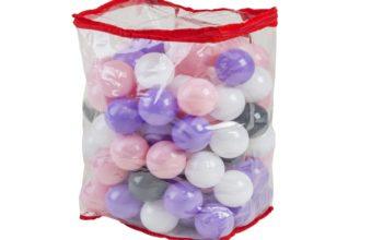 Piłeczki basenowe w plecaku