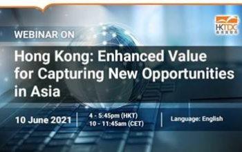 "HTDC zaprasza na webinarium pt. ""Hong Kong: an Irreplaceable Business Hub for Capturing Opportunities in Asia""."