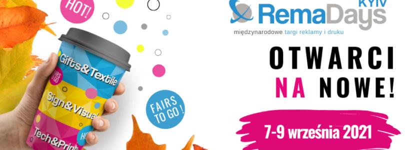 RemaDays Kyiv: 7-9 września 2021 r.