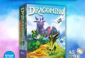 """""""DRAGOMINO""""  Nagradzana gra dla dzieci bazująca na Kingdomino!"""