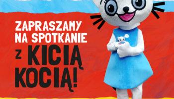 Spotkania autorskie z Kicią Kocią w hurtowni Książnica Polska: